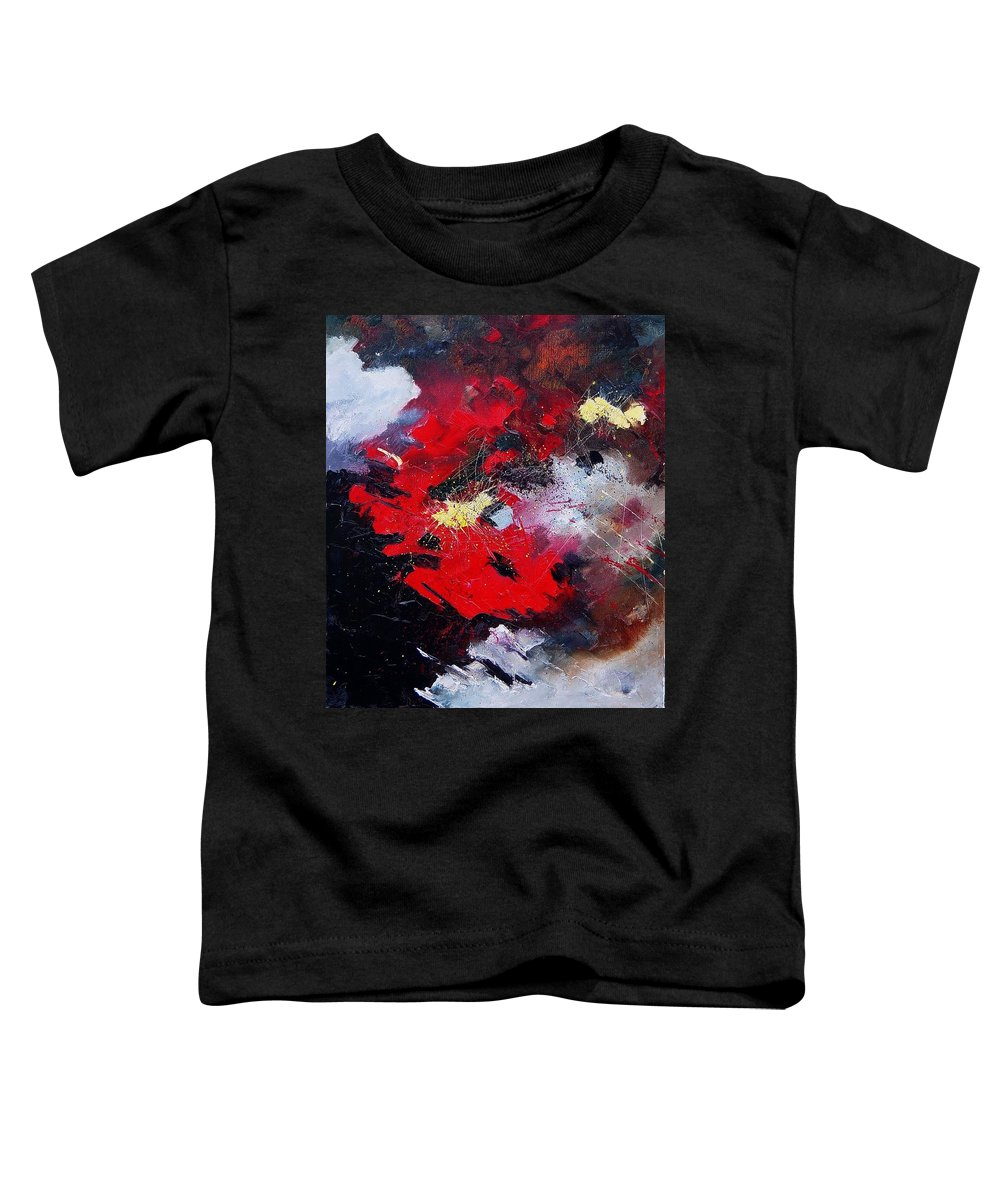 Abstract Toddler T-Shirt featuring the painting Abstract070406 by Pol Ledent
