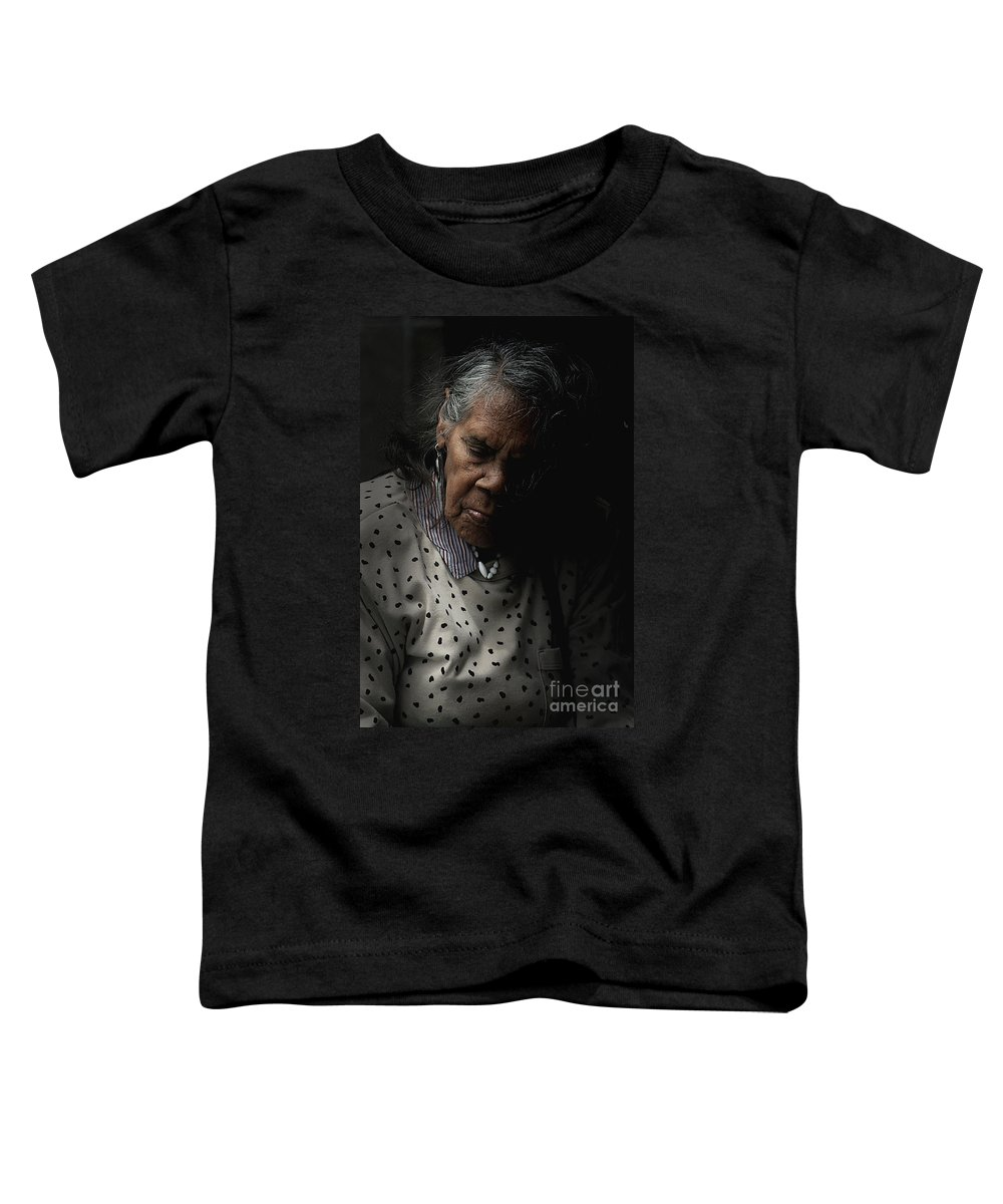 Portrait Toddler T-Shirt featuring the photograph Alice by Avalon Fine Art Photography