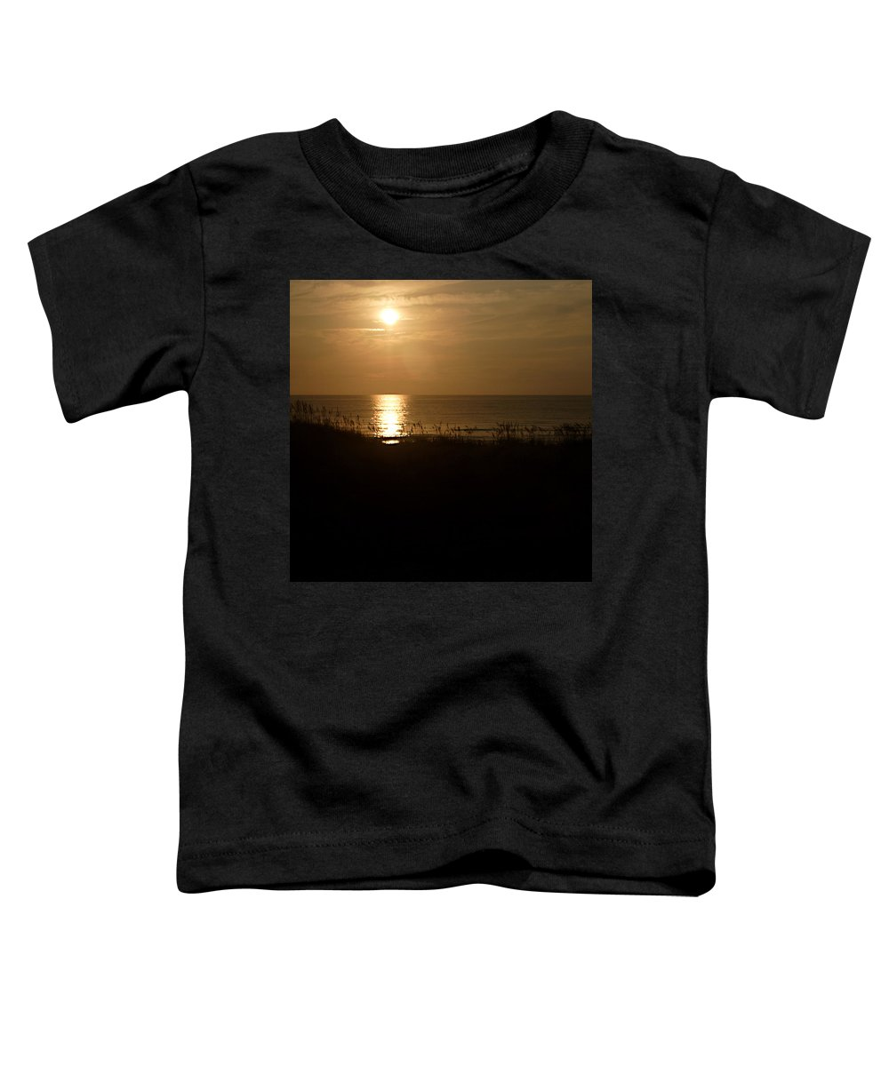 Color Toddler T-Shirt featuring the photograph Another Day Ends by Jean Macaluso