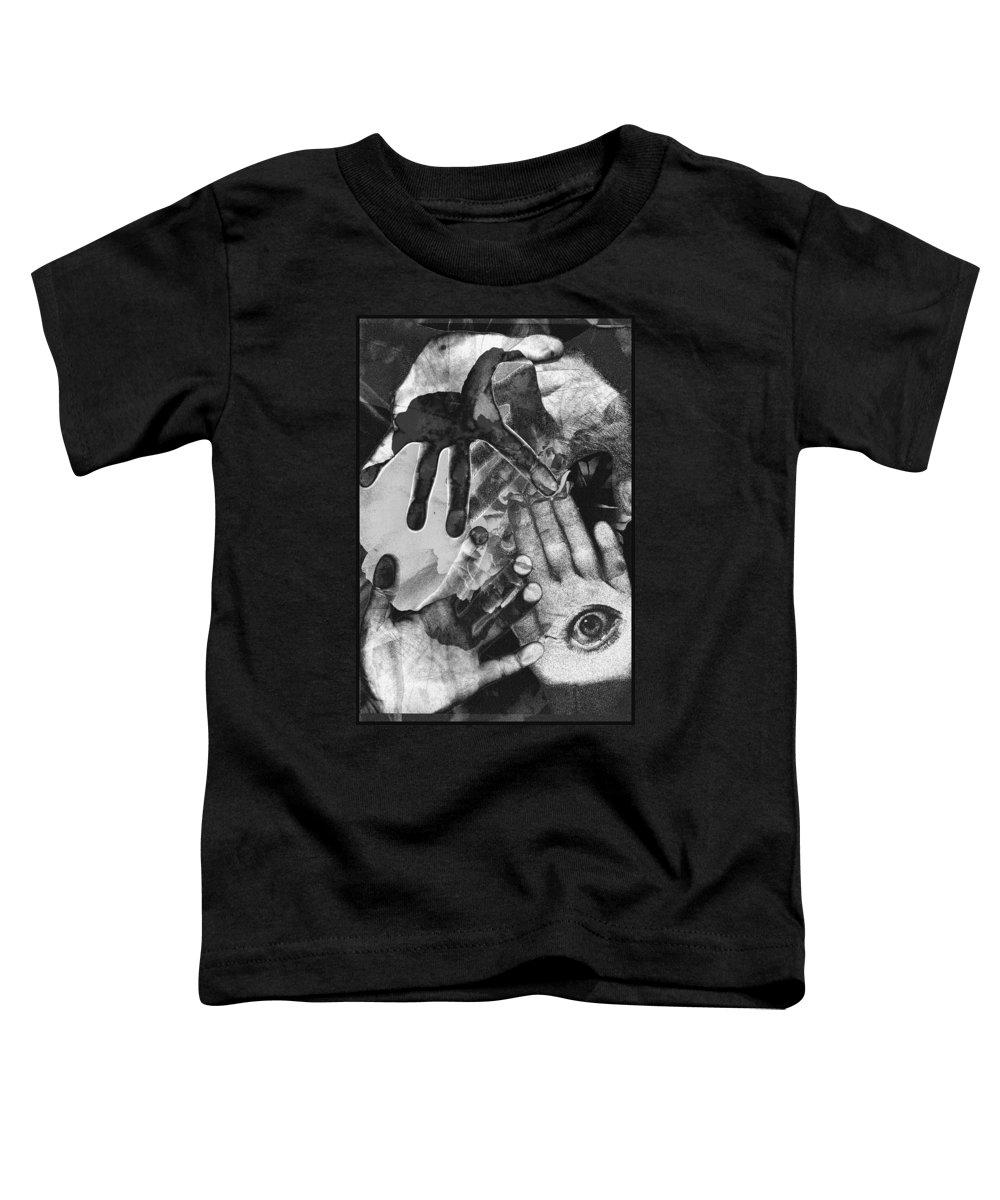 Hands Toddler T-Shirt featuring the photograph Artist's Hands by Nancy Mueller