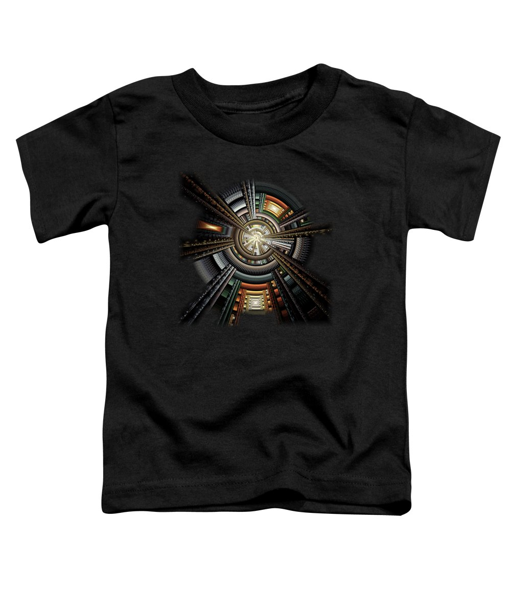 Space Station Toddler T-Shirts