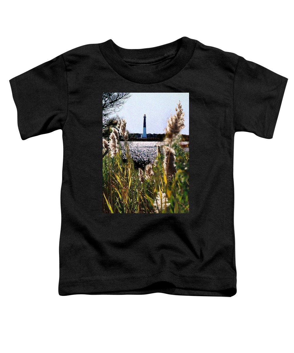 Barnegat Toddler T-Shirt featuring the digital art Barnegat Bay by Steve Karol