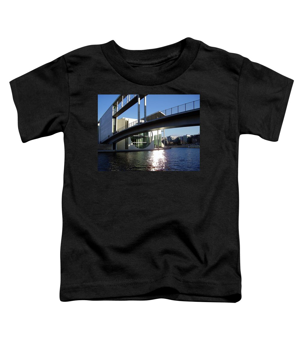 Marie-elisabeth-lueders Toddler T-Shirt featuring the photograph Berlin by Flavia Westerwelle