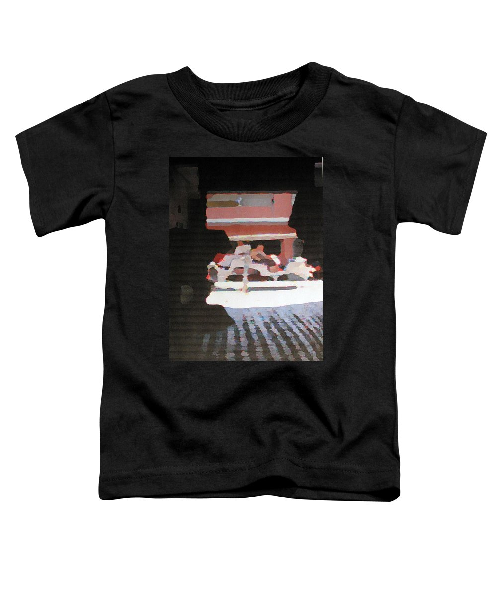 Bermuda Toddler T-Shirt featuring the photograph Bermuda Carriage Impressions by Ian MacDonald