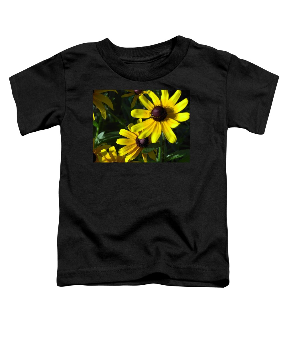 Charity Toddler T-Shirt featuring the photograph Black Eyed Susan by Mary-Lee Sanders
