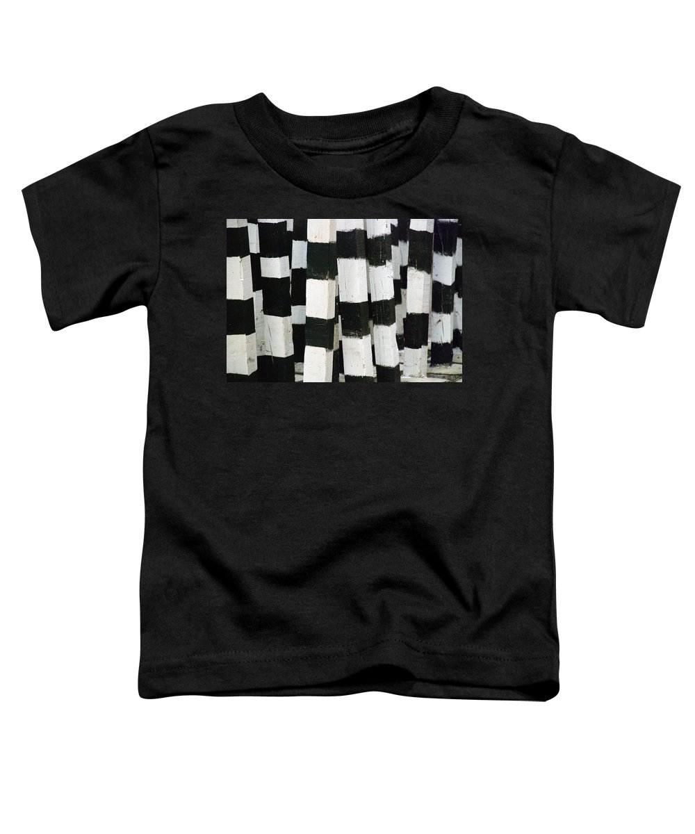 Skip Hunt Toddler T-Shirt featuring the photograph Blanco Y Negro by Skip Hunt