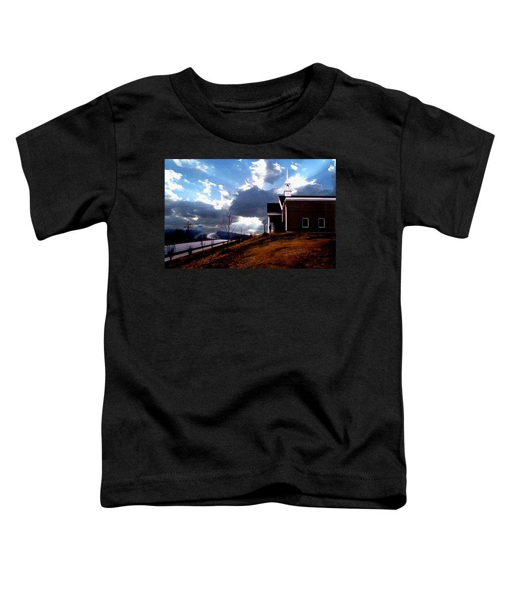 Landscape Toddler T-Shirt featuring the photograph Blue Springs Landscape by Steve Karol