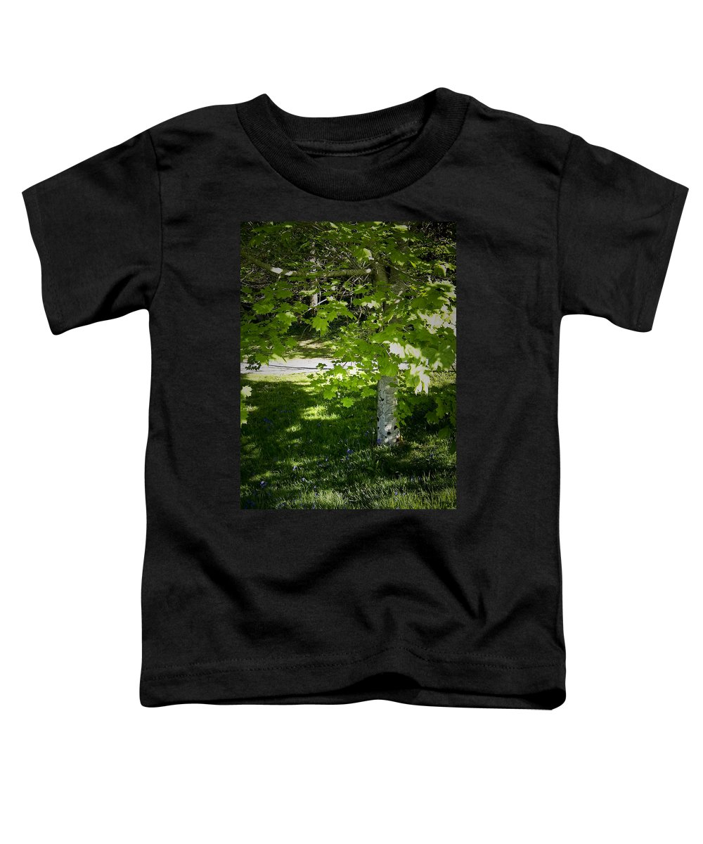 Irish Toddler T-Shirt featuring the photograph Bluebells In Killarney National Park Ireland by Teresa Mucha