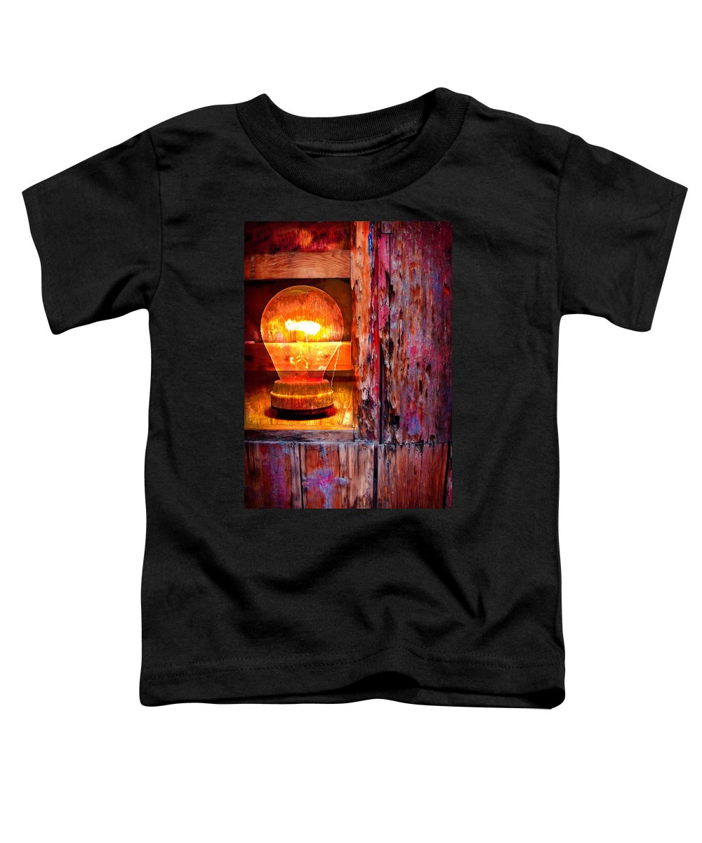 Skip Toddler T-Shirt featuring the photograph Bright Idea by Skip Hunt