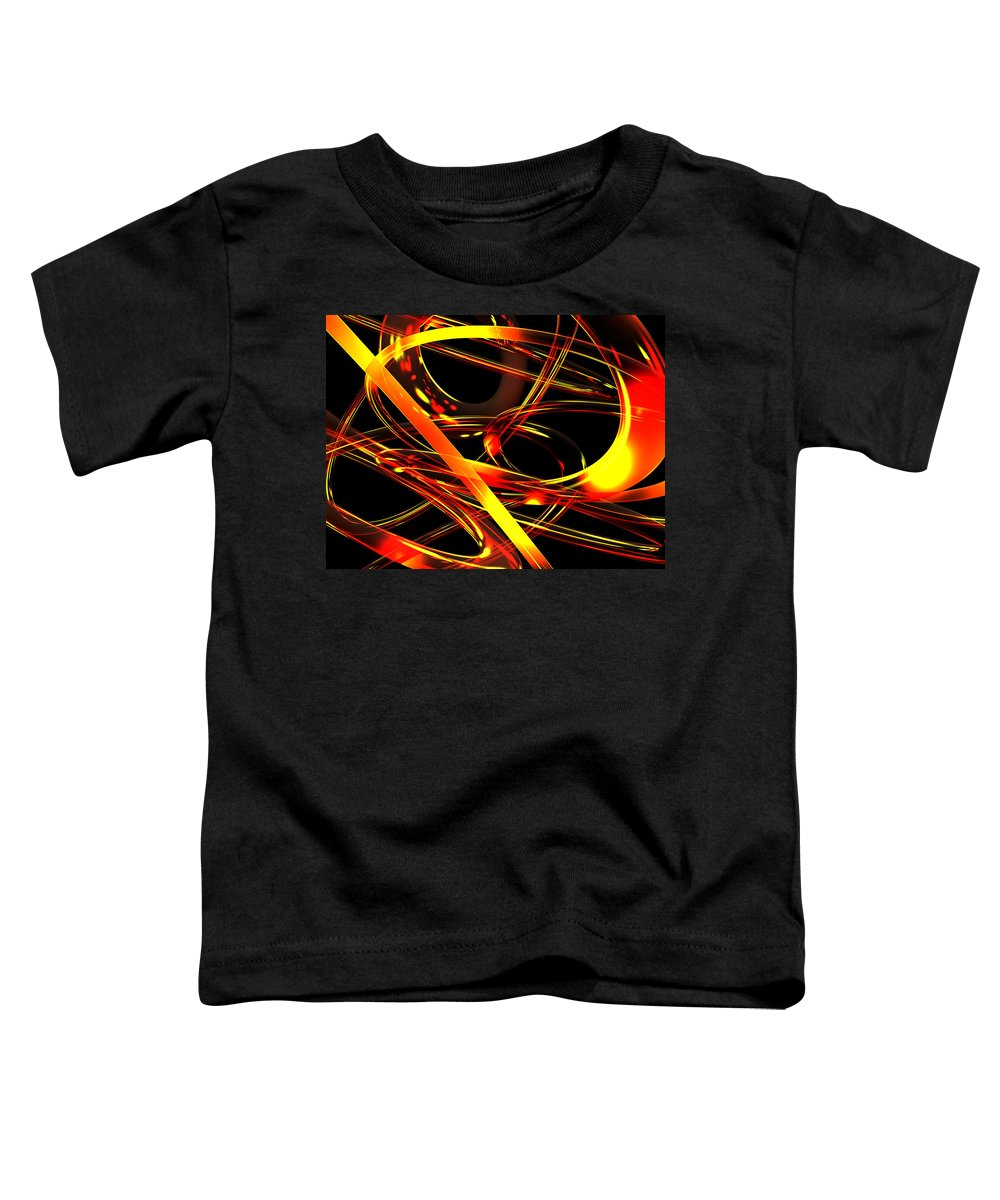 Scott Piers Toddler T-Shirt featuring the digital art BWS by Scott Piers