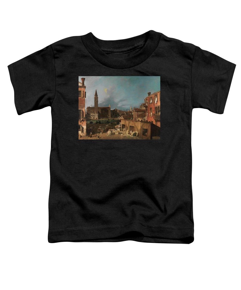 Church Yard Toddler T-Shirts