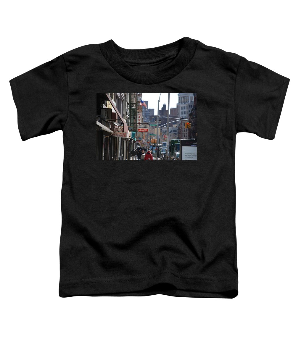 Architecture Toddler T-Shirt featuring the photograph Canal And Eldridge by Rob Hans