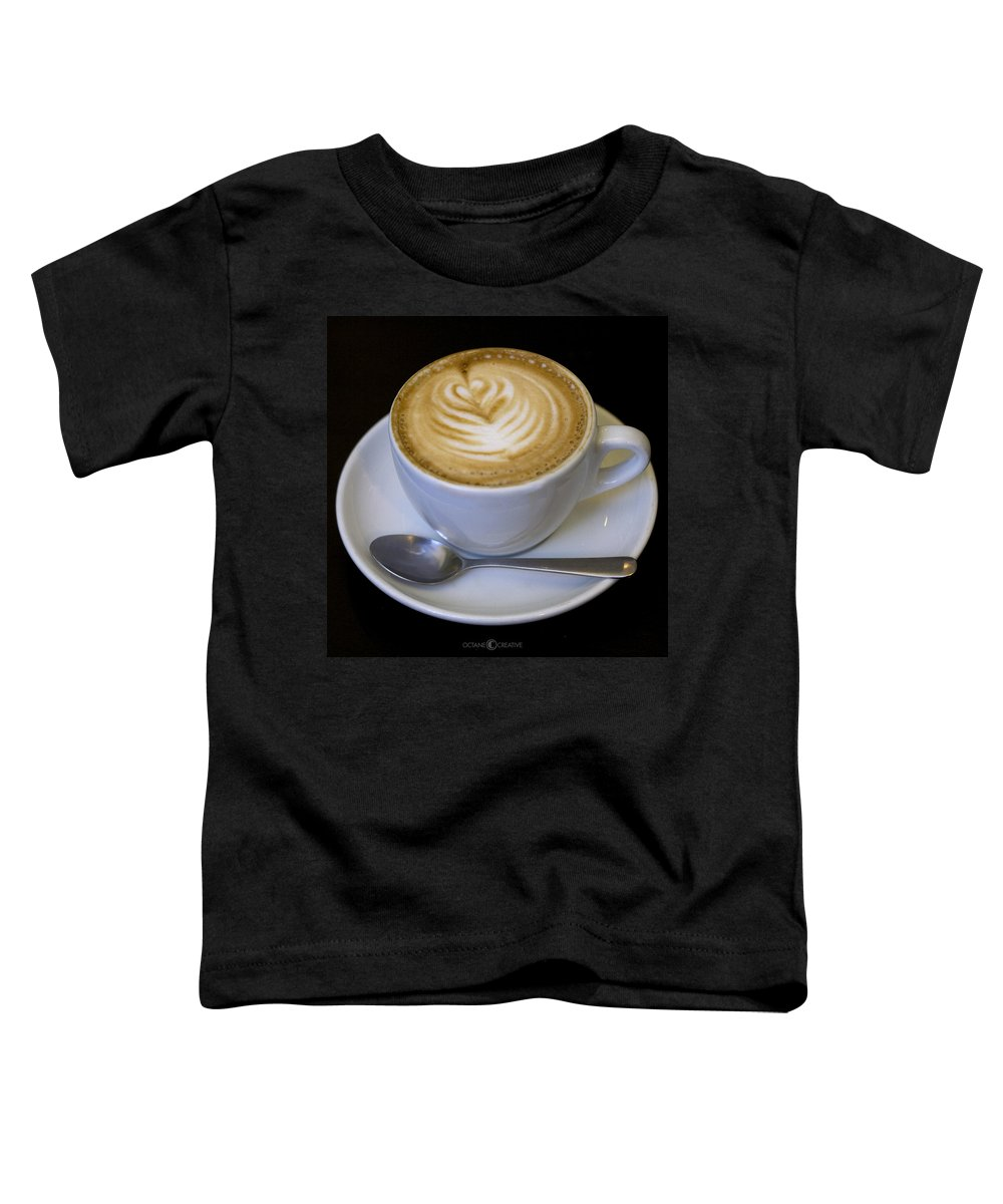 Coffee Toddler T-Shirt featuring the photograph Cappuccino by Tim Nyberg