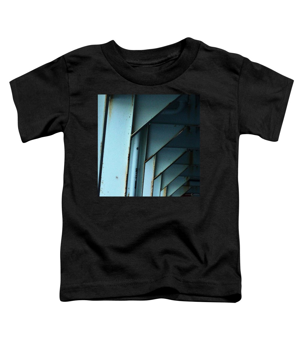 Ferry Toddler T-Shirt featuring the photograph Car Ferry by Tim Nyberg