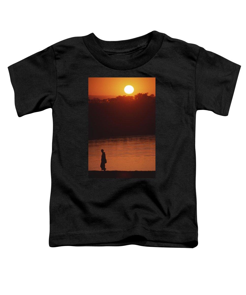 Sunset Toddler T-Shirt featuring the photograph Chitwan Sunset by Patrick Klauss