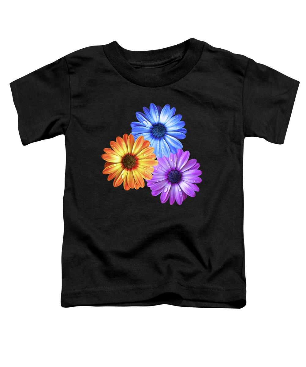 Water Droplets Photographs Toddler T-Shirts