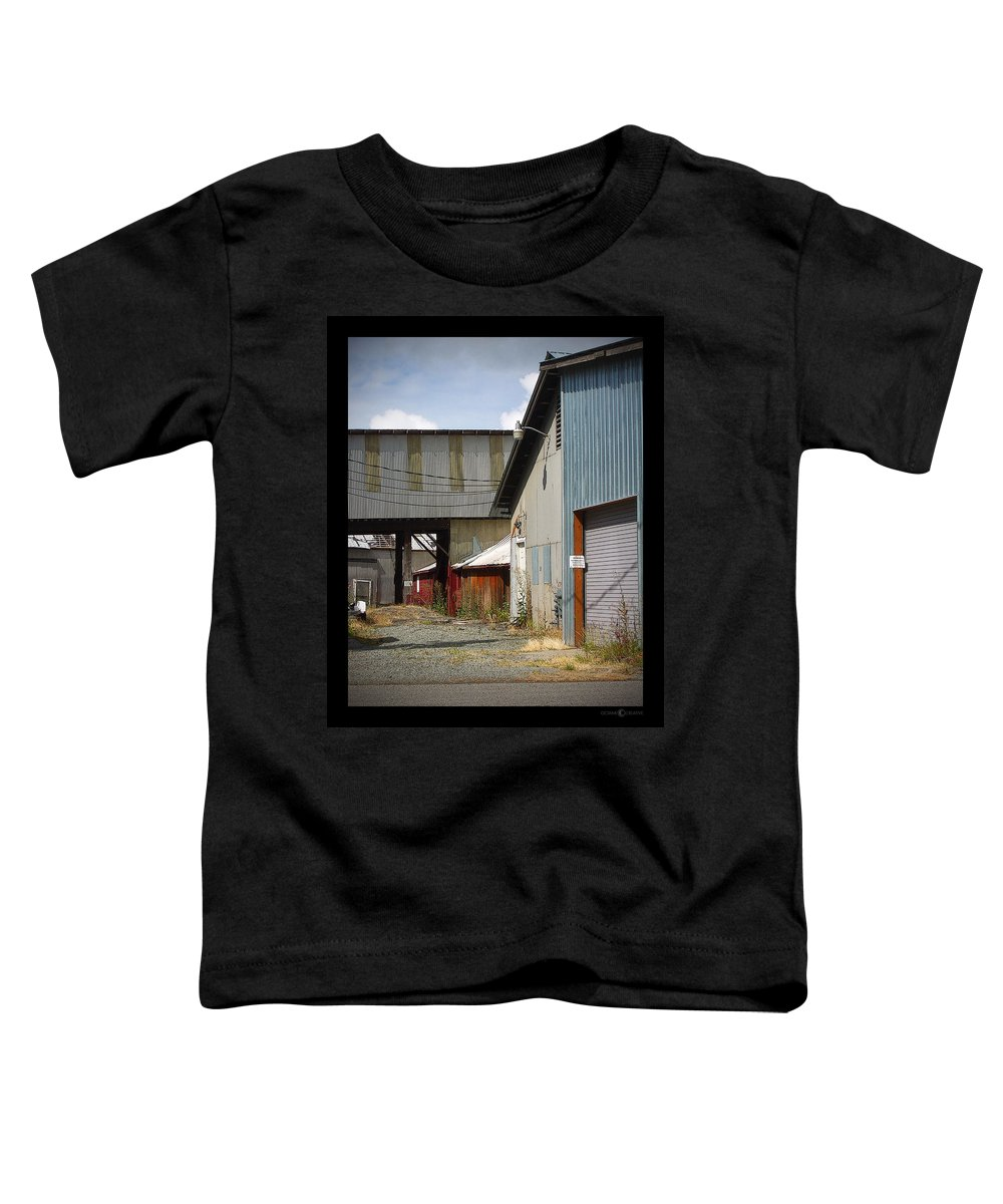 Corrugated Toddler T-Shirt featuring the photograph Corrugated by Tim Nyberg