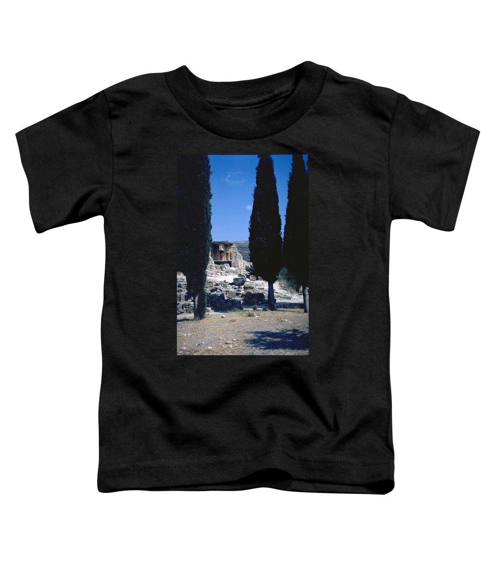 Crete Toddler T-Shirt featuring the photograph Crete by Flavia Westerwelle
