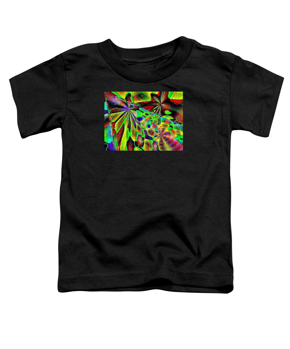 Computer Art Toddler T-Shirt featuring the digital art Damselwing by Dave Martsolf