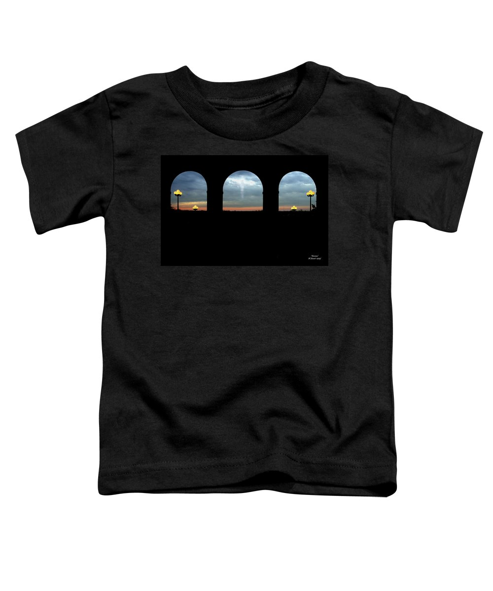 Arch Toddler T-Shirt featuring the photograph Decisions by Albert Stewart