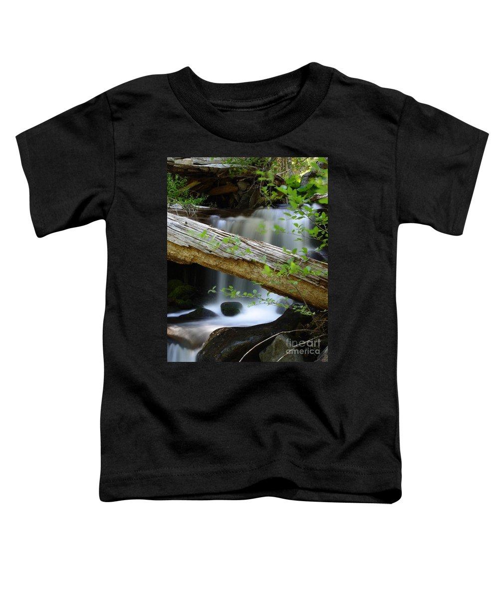 Creek Toddler T-Shirt featuring the photograph Deer Creek 13 by Peter Piatt
