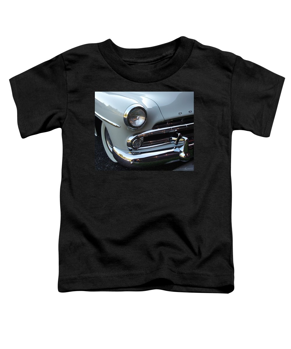 Dodge Toddler T-Shirt featuring the photograph Dodge by Tim Nyberg