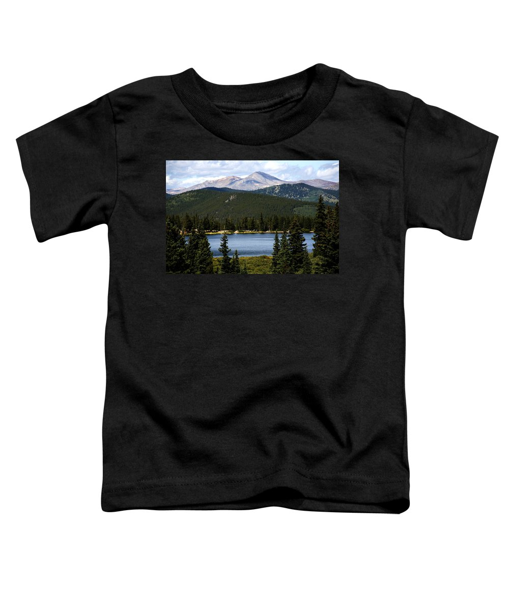 Colorado Toddler T-Shirt featuring the photograph Echo Lake Colorado by Marilyn Hunt