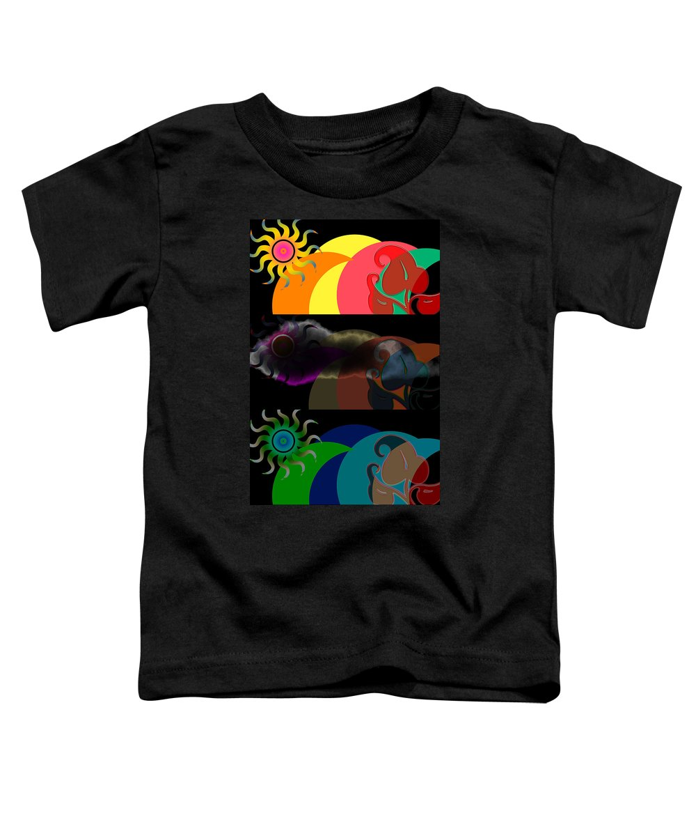 Toddler T-Shirt featuring the digital art Environment by Clayton Bruster
