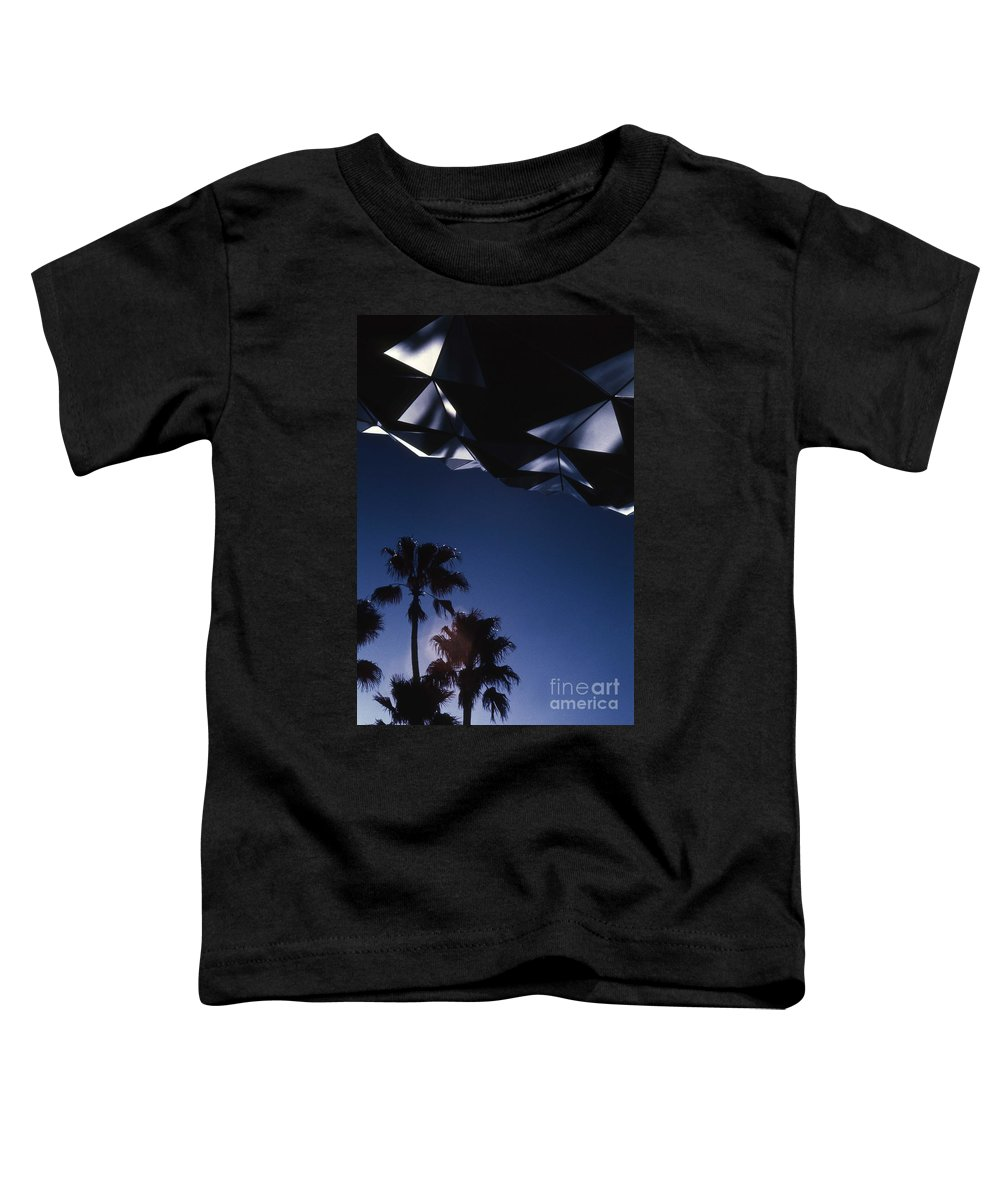 Epcot Toddler T-Shirt featuring the photograph Epcot Abstract by Richard Rizzo