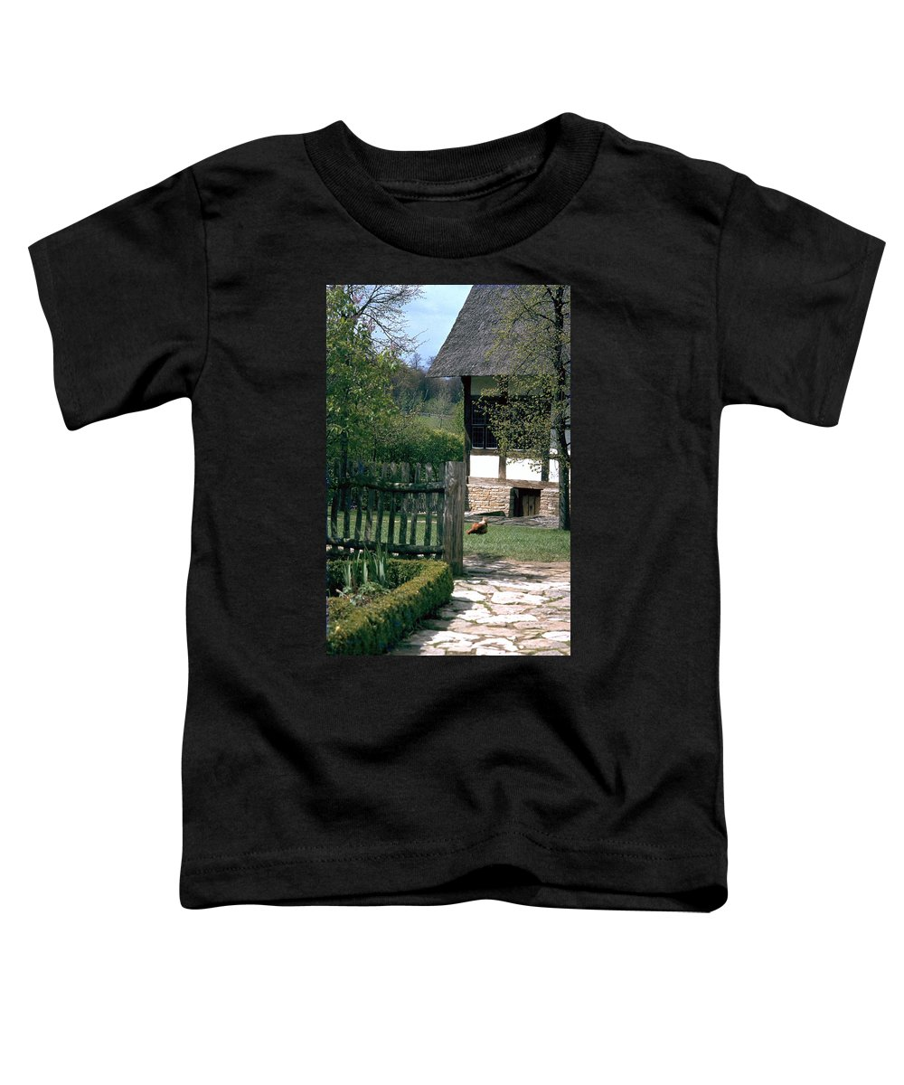German Toddler T-Shirt featuring the photograph Farm by Flavia Westerwelle
