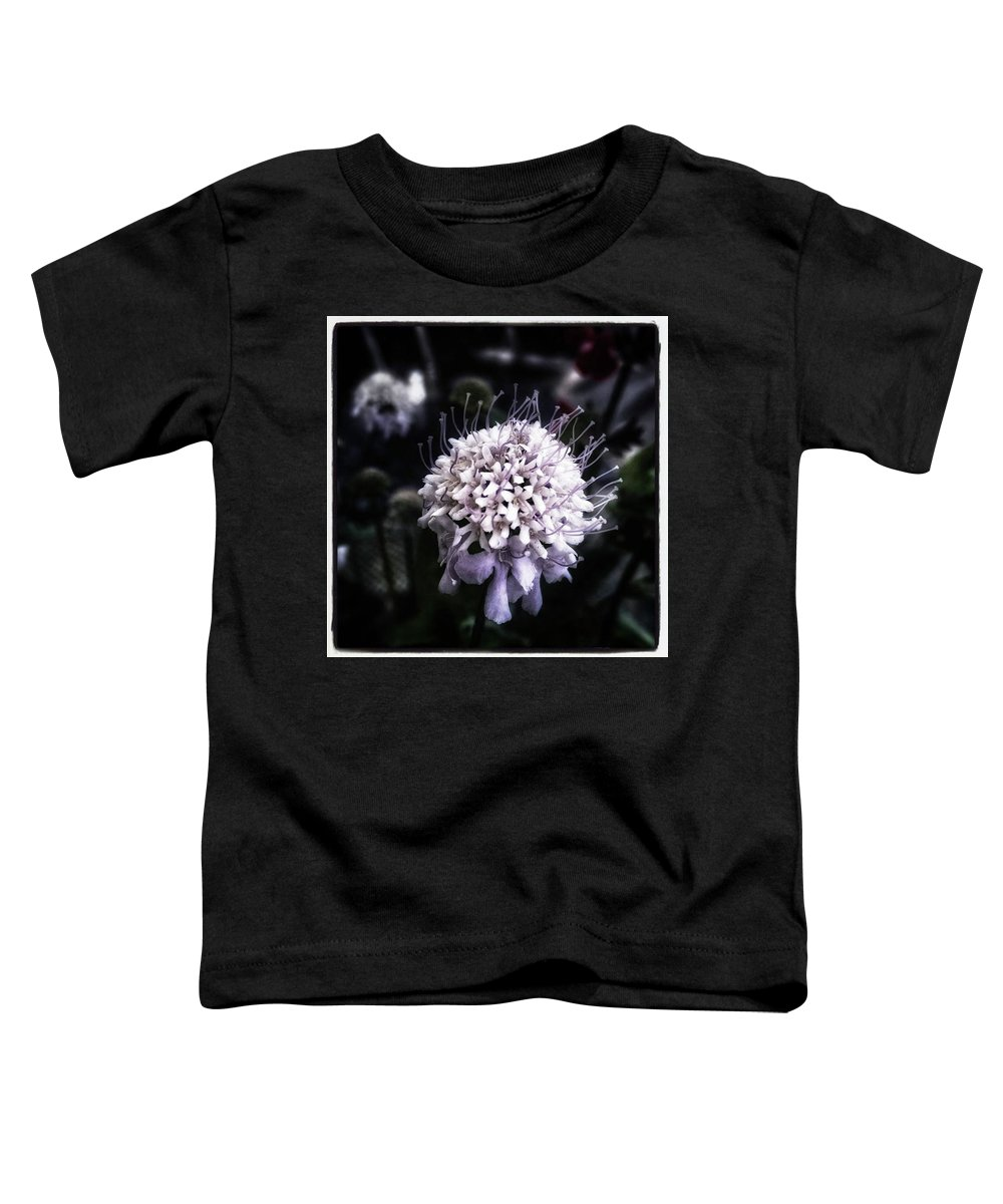 Thecastro Toddler T-Shirt featuring the photograph Field Scabious. A Member Of The by Mr Photojimsf