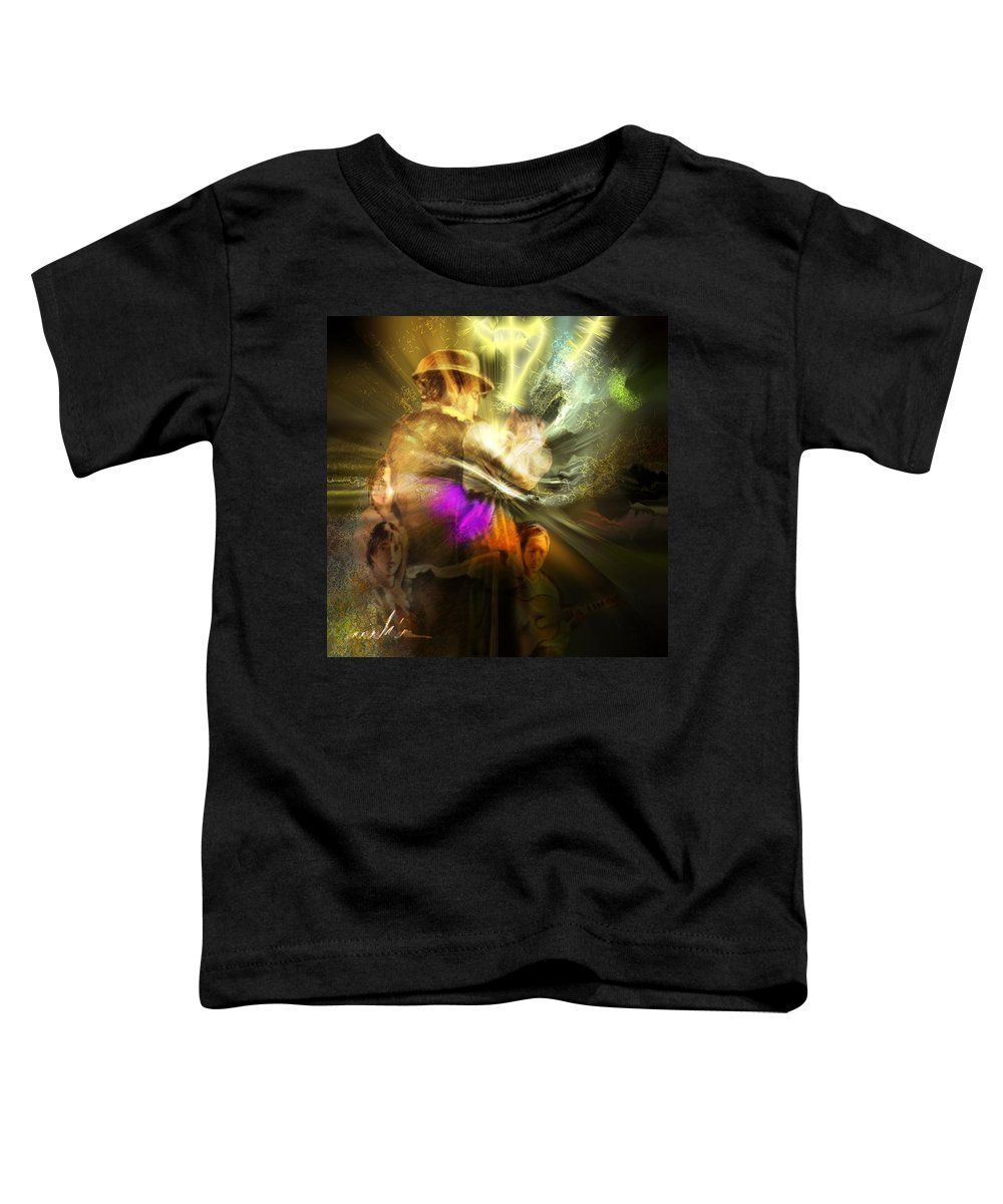 Spain Toddler T-Shirt featuring the painting Flamenco by Miki De Goodaboom