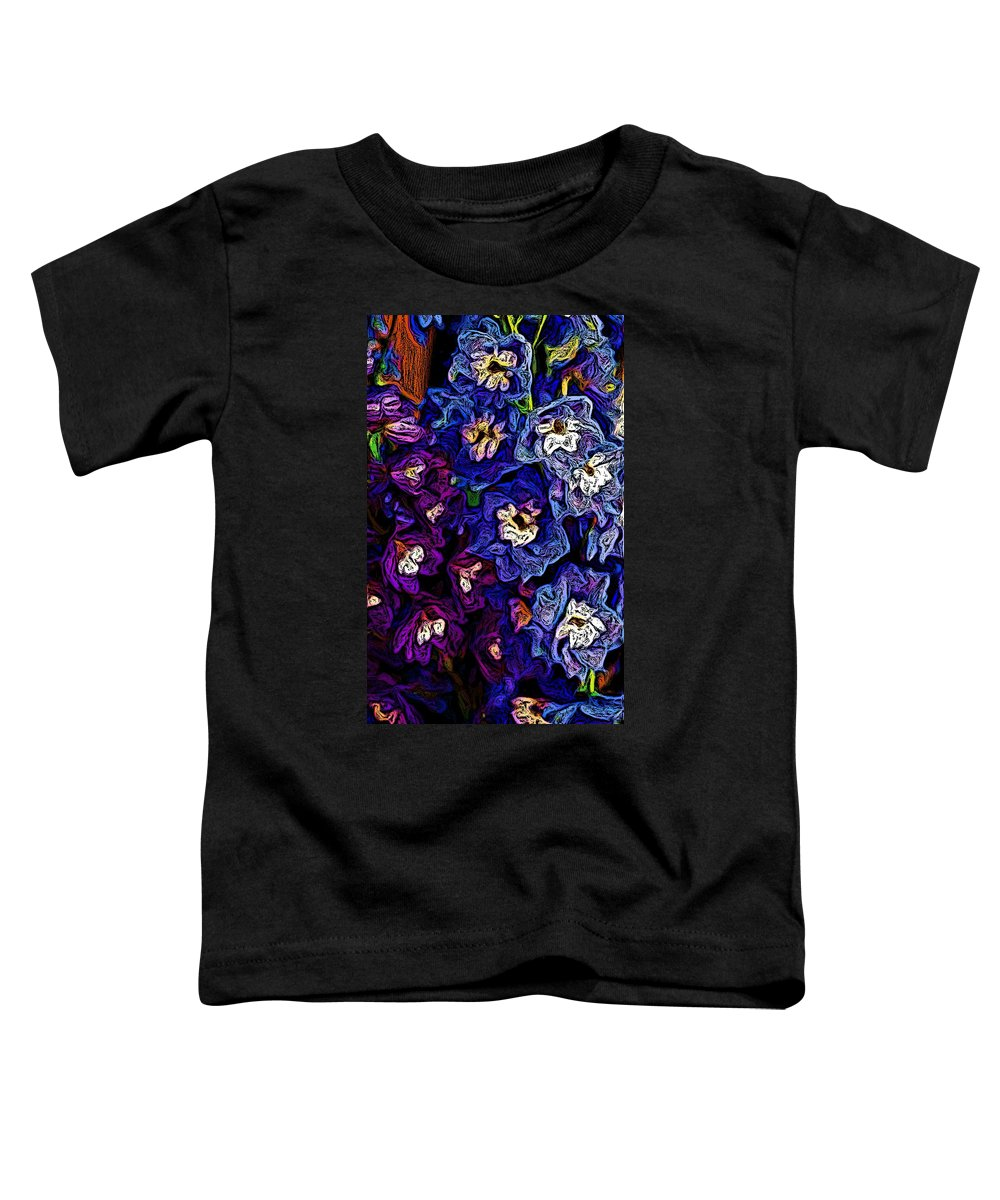 Digital Photo Toddler T-Shirt featuring the photograph Flower Arrangement II by David Lane