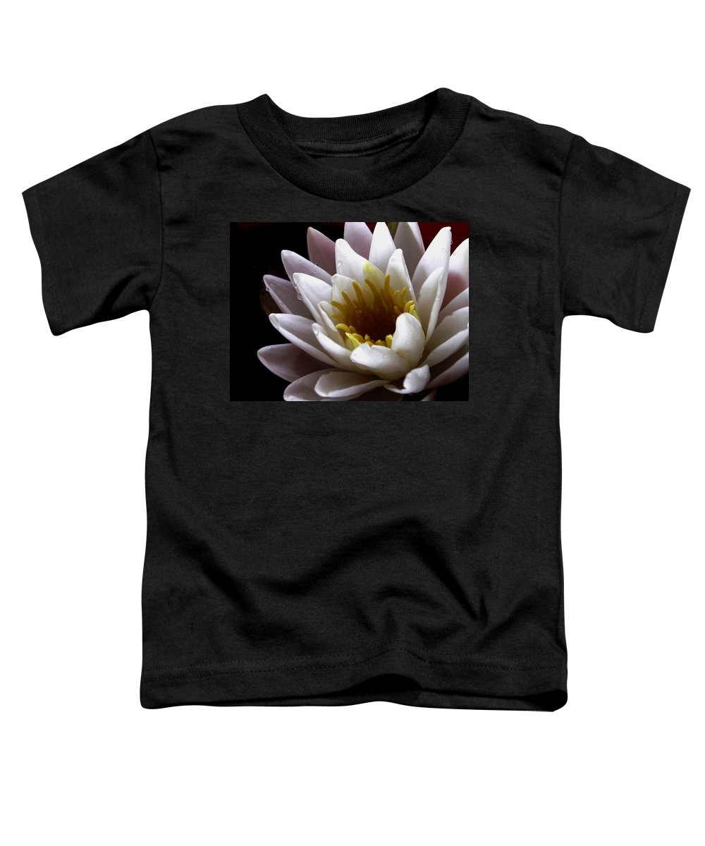 Flowers Toddler T-Shirt featuring the photograph Flower Waterlily by Nancy Griswold