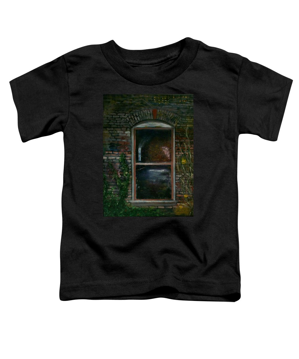 Landscape Toddler T-Shirt featuring the painting For Rent by Stephen King
