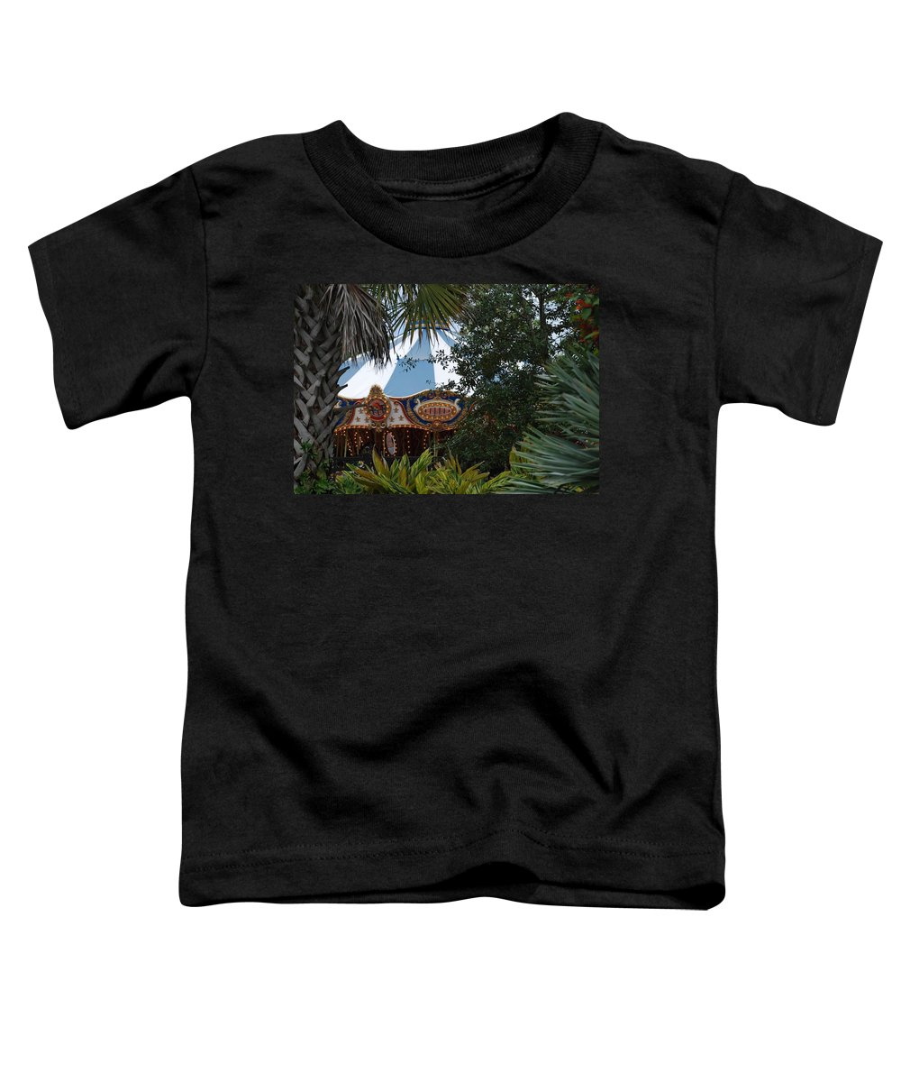 Architecture Toddler T-Shirt featuring the photograph Fun Thru The Trees by Rob Hans