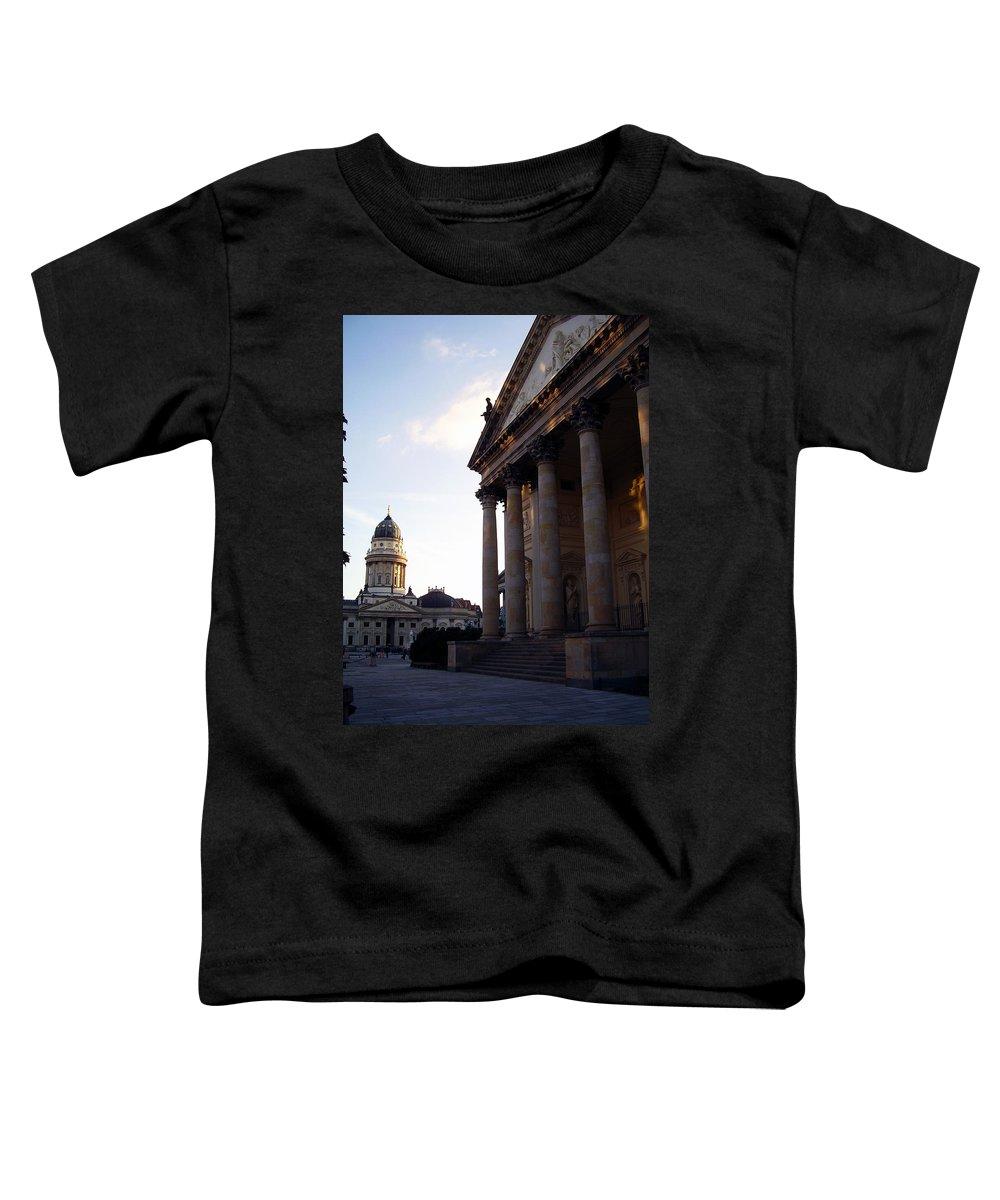 Gendarmenmarkt Toddler T-Shirt featuring the photograph Gendarmenmarkt by Flavia Westerwelle