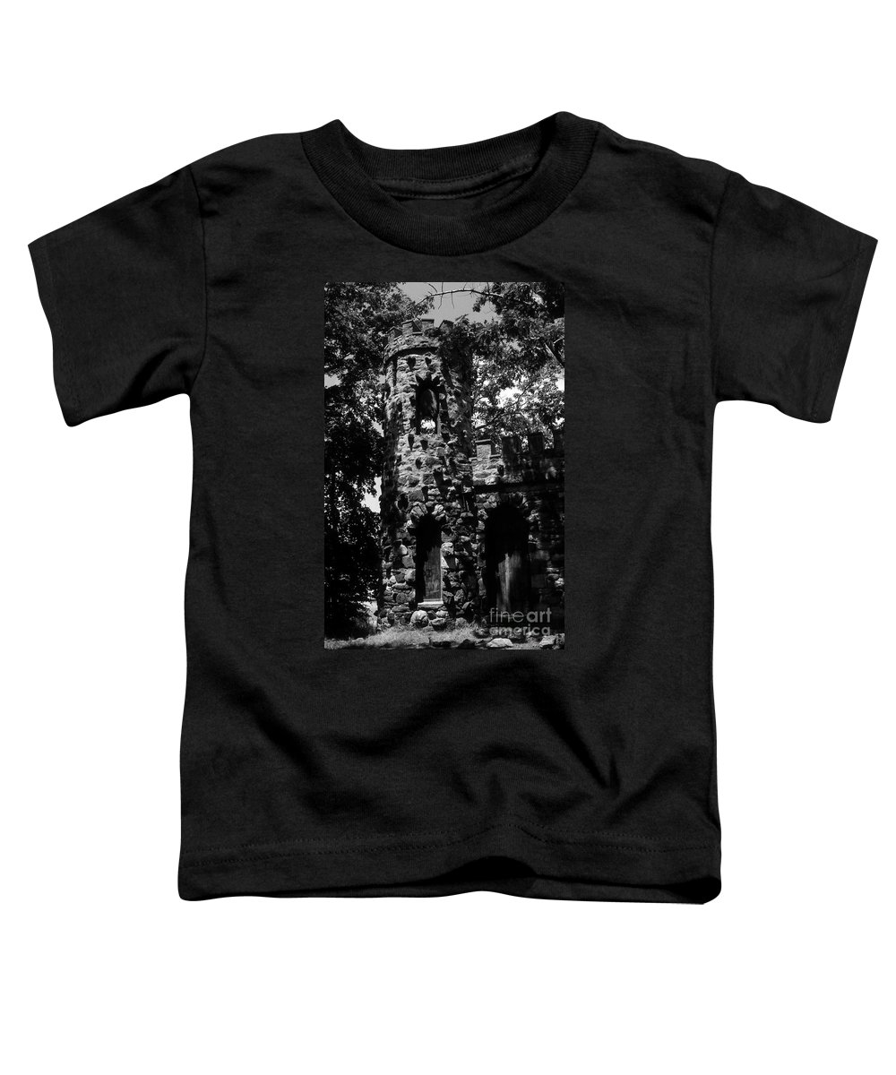 Castle Toddler T-Shirt featuring the photograph Glen Island Castle by Richard Rizzo