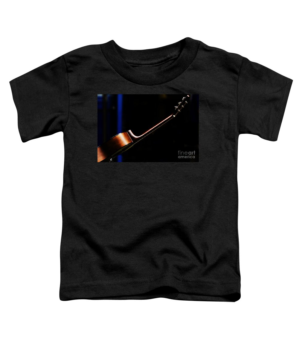 Guitar Toddler T-Shirt featuring the photograph Guitar by Sheila Smart Fine Art Photography