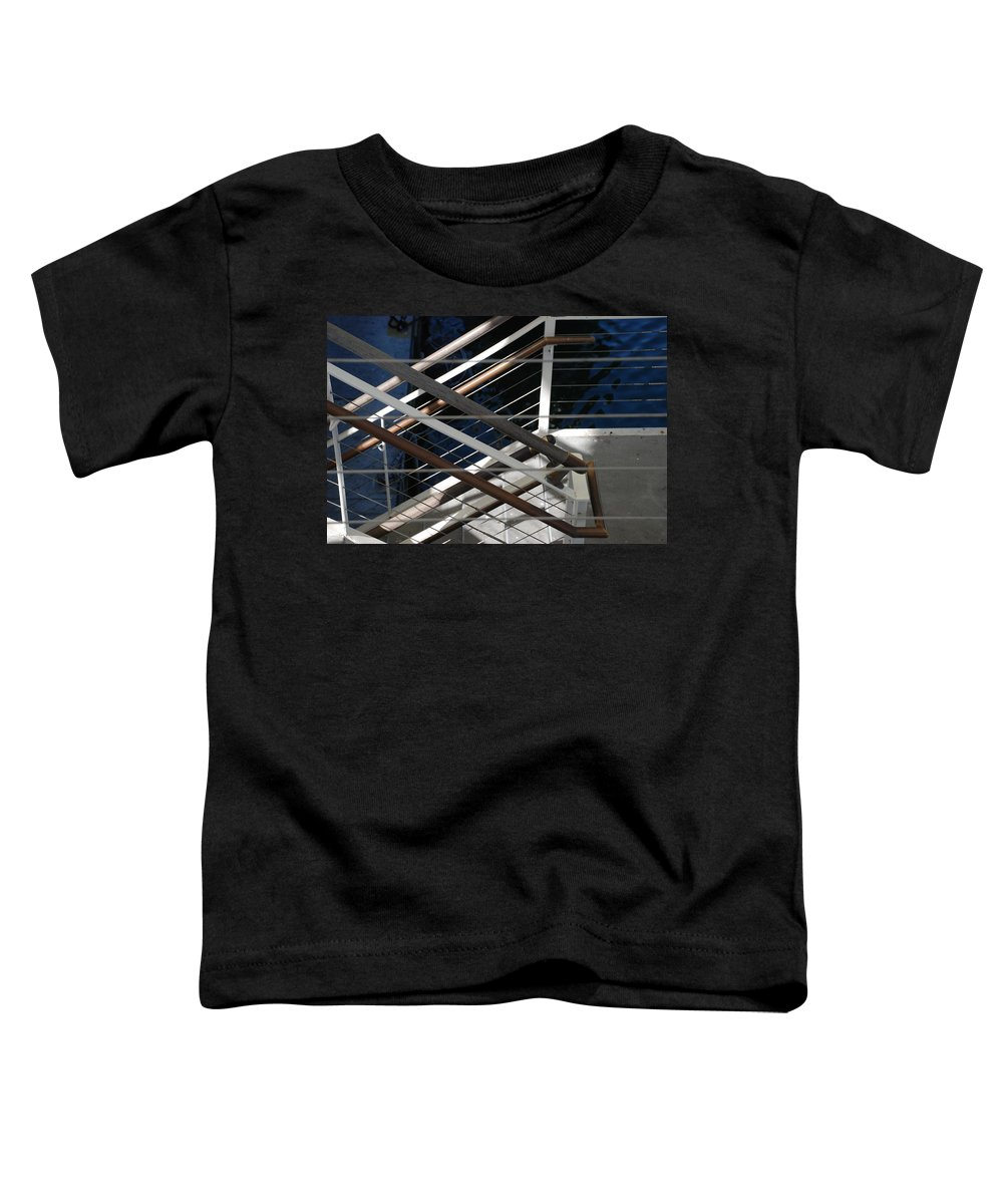 Water Toddler T-Shirt featuring the photograph Hand Rails by Rob Hans