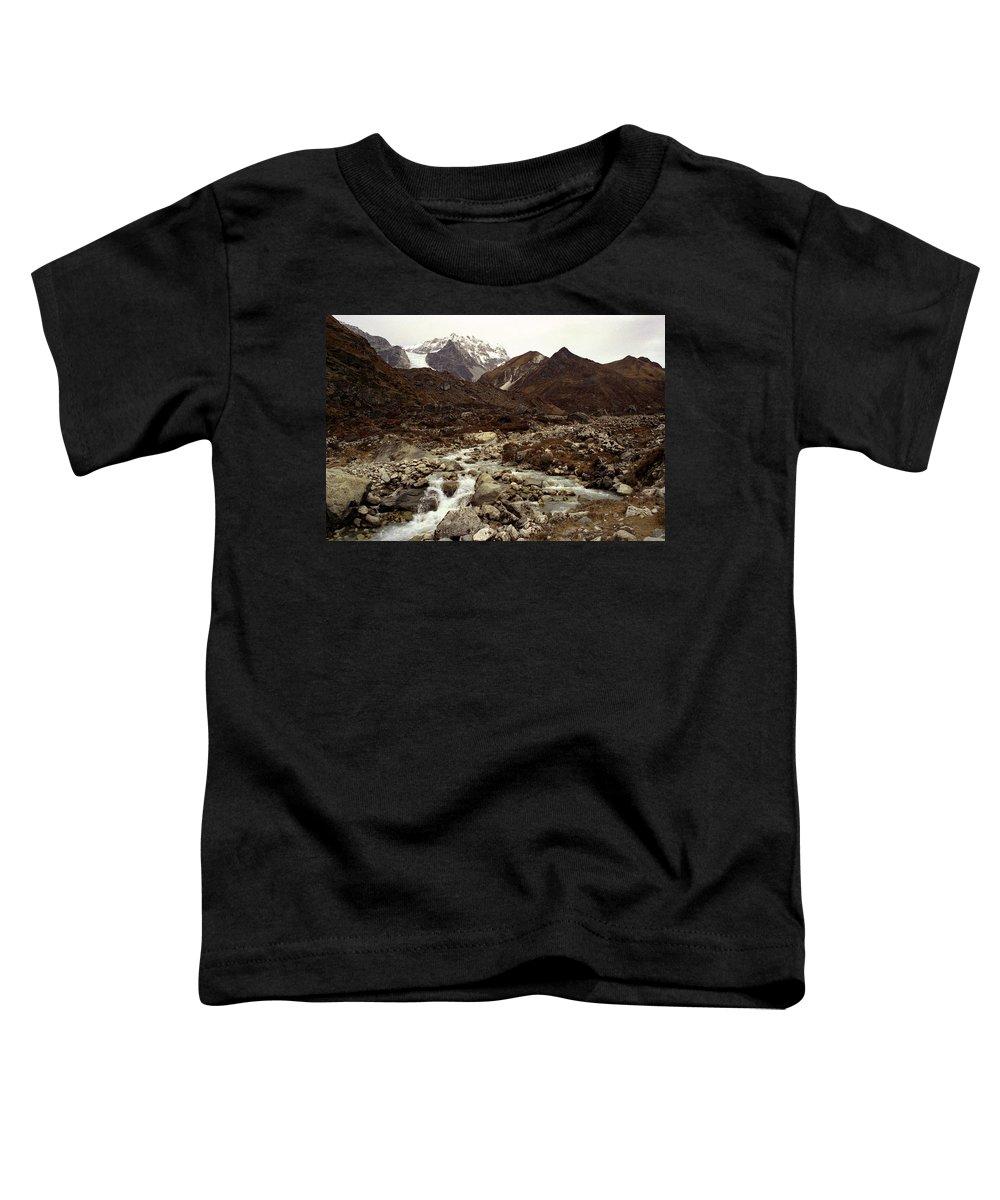 Himalaya Toddler T-Shirt featuring the photograph Himalaya by Patrick Klauss