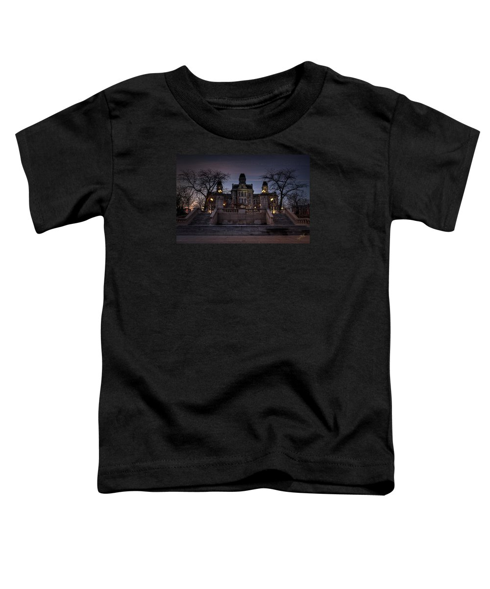 Syracuse Toddler T-Shirt featuring the photograph Hogwarts - Hall Of Languages by Everet Regal