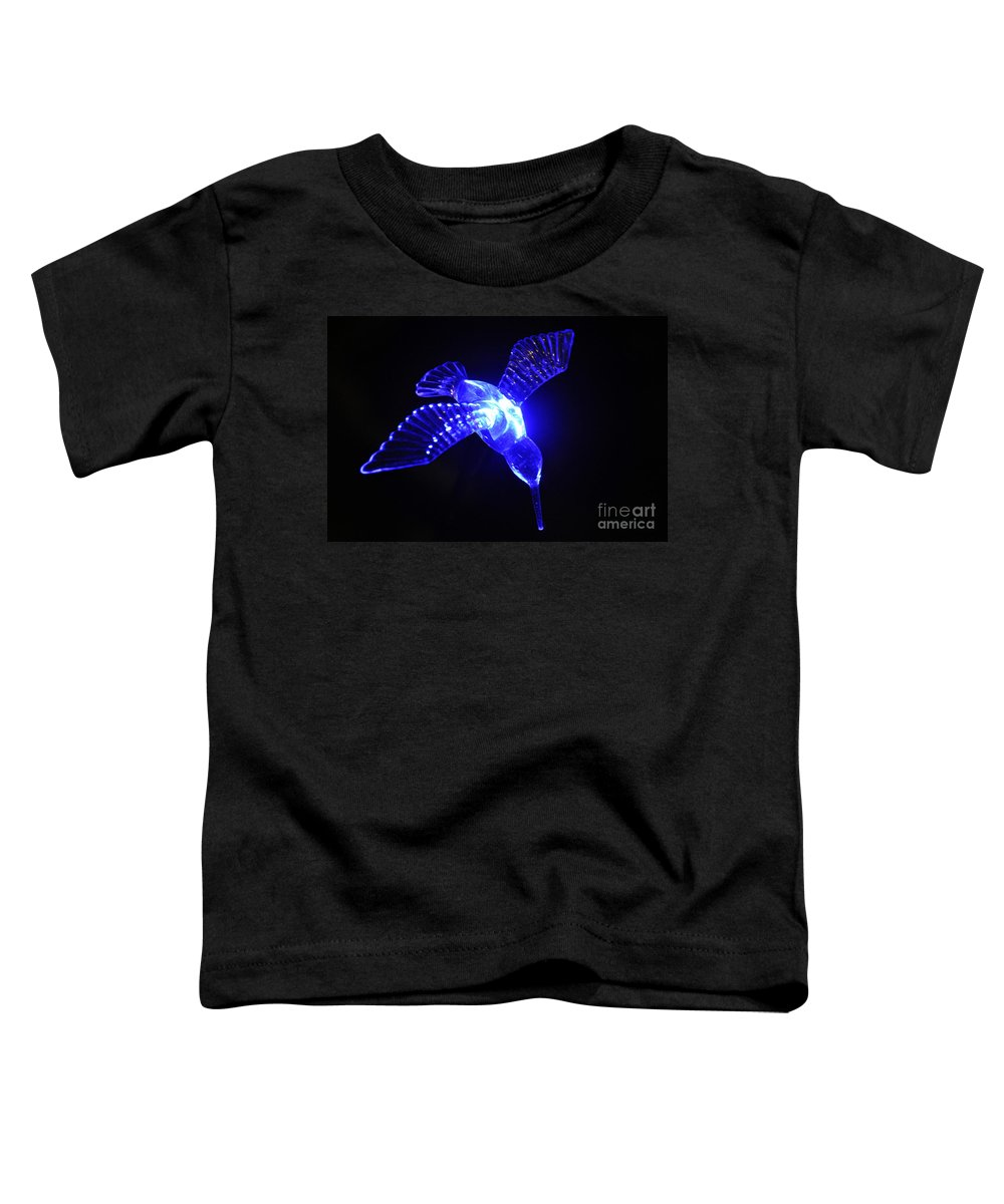 Clay Toddler T-Shirt featuring the photograph Humming Bird Light by Clayton Bruster