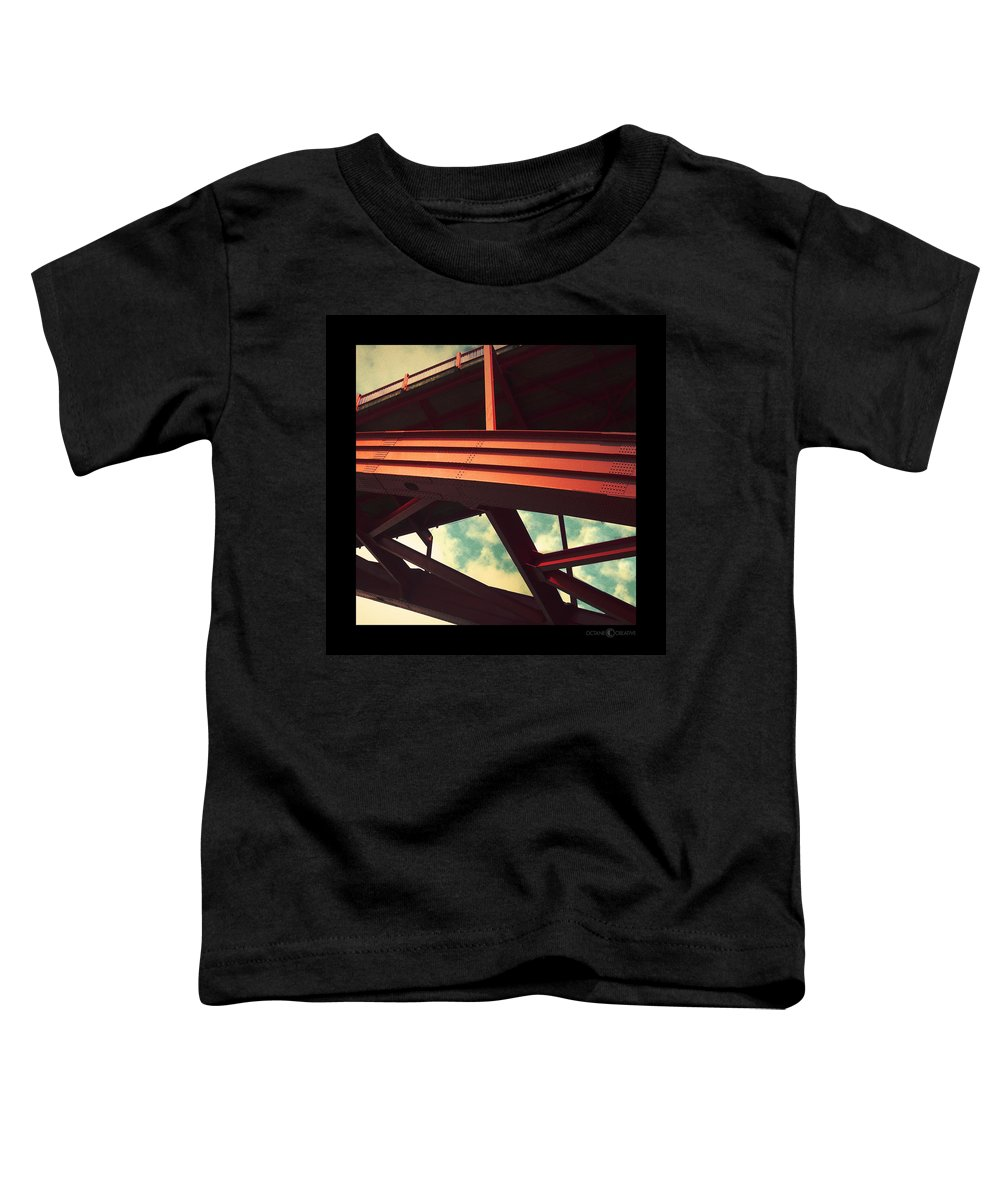 Bridge Toddler T-Shirt featuring the photograph Infrastructure by Tim Nyberg