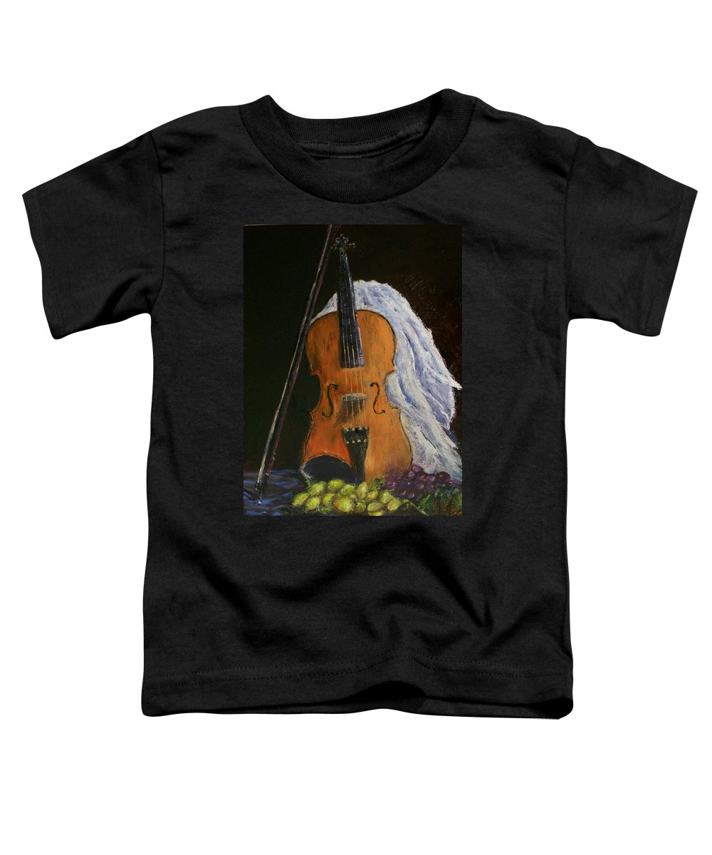 Original Toddler T-Shirt featuring the painting Intermission by Stephen King