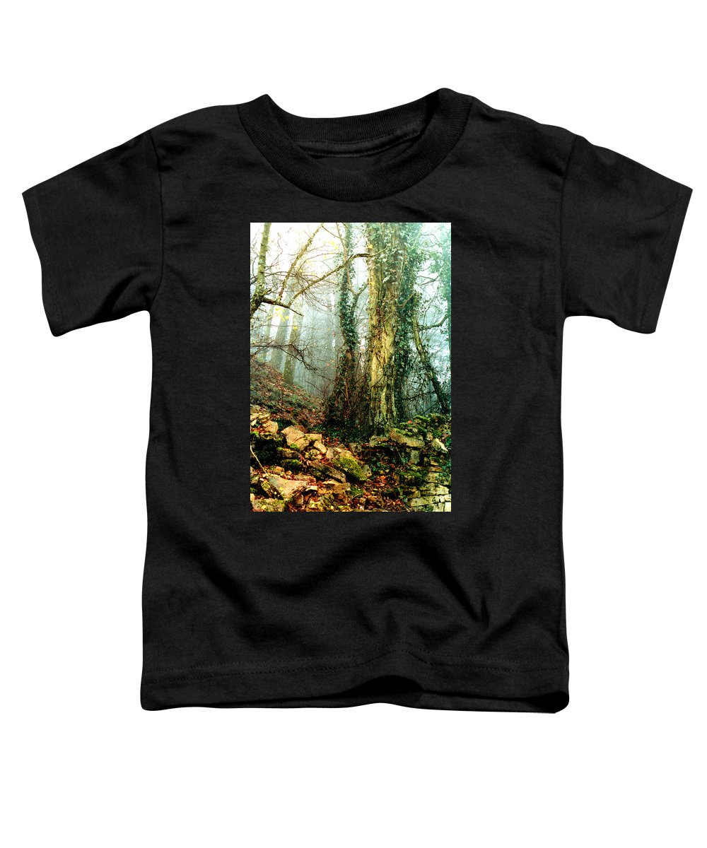 Ivy Toddler T-Shirt featuring the photograph Ivy In The Woods by Nancy Mueller