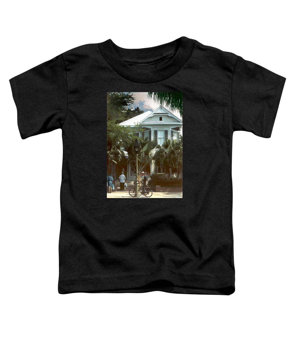 Historic Toddler T-Shirt featuring the photograph Keywest by Steve Karol