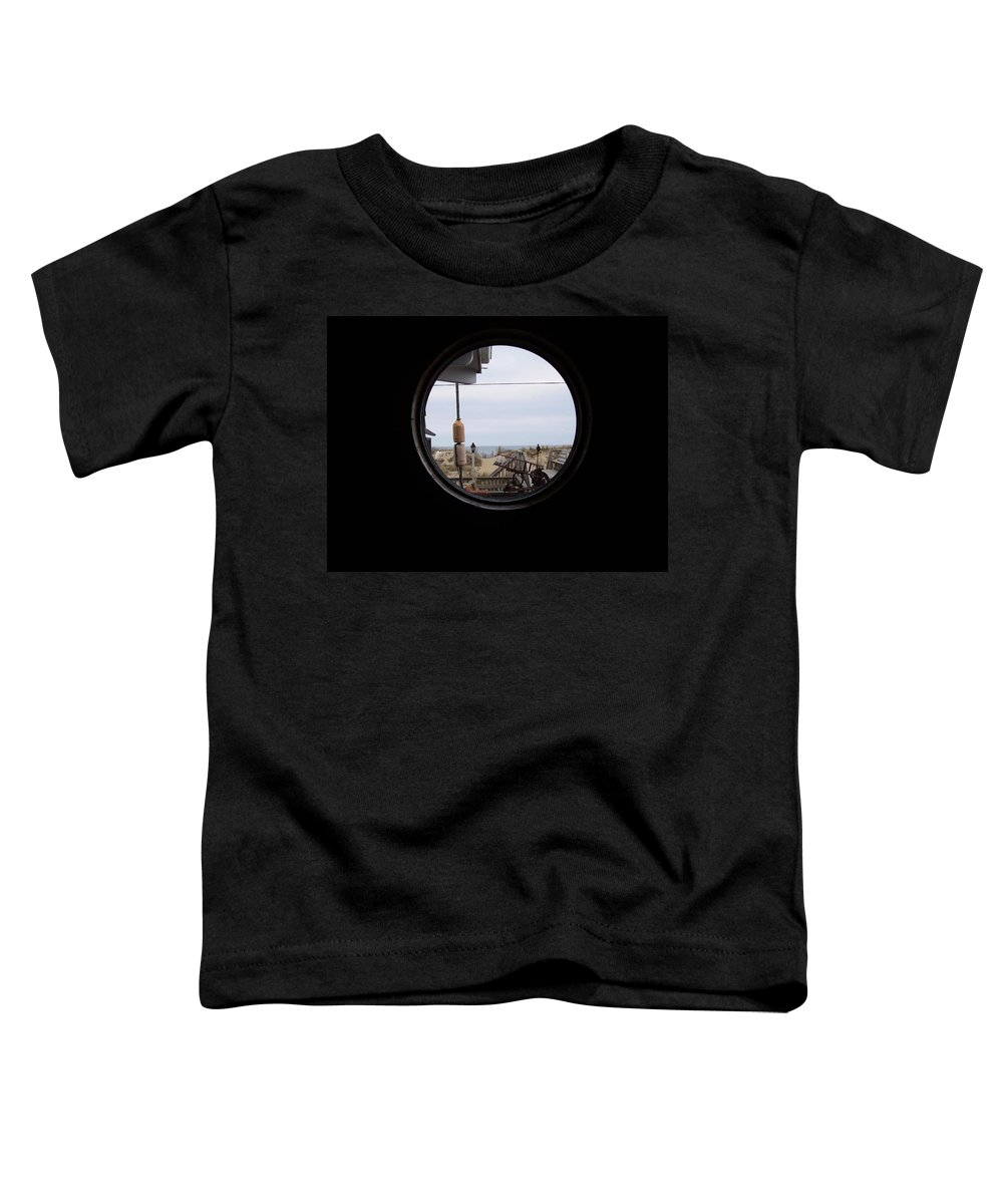 Kitty Hawk Toddler T-Shirt featuring the photograph Kitty Hawk by Flavia Westerwelle