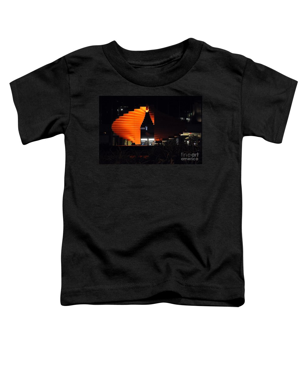 Clay Toddler T-Shirt featuring the photograph L.a. Nights by Clayton Bruster