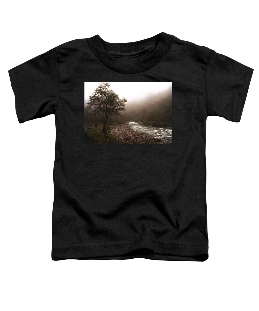 Tree Toddler T-Shirt featuring the photograph Langtang Morning by Patrick Klauss